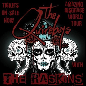 Quireboys and Raskins Poster
